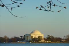 Μνημείο του Jefferson στοκ εικόνα με δικαίωμα ελεύθερης χρήσης