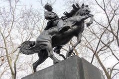 Μνημείο του Jose Marti - πόλη της Νέας Υόρκης Στοκ φωτογραφία με δικαίωμα ελεύθερης χρήσης
