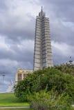 Μνημείο του Jose Marti στην Αβάνα Στοκ Φωτογραφίες