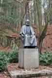 Μνημείο του Karl Marx στο Κάρλοβυ Βάρυ Στοκ Εικόνες