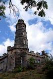 Μνημείο του Nelson στο Hill Calton Στοκ Φωτογραφία