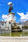 Μνημείο του Philip IV Plaza de Oriente στη Μαδρίτη Στοκ εικόνες με δικαίωμα ελεύθερης χρήσης