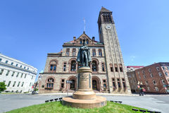 Μνημείο του Philip John Schuyler, Άλμπανυ, Νέα Υόρκη Στοκ εικόνες με δικαίωμα ελεύθερης χρήσης