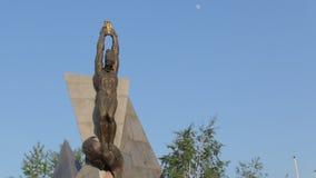 Μνημείο του PROMETHEUS και του αετού φιλμ μικρού μήκους