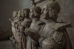 Μνημείο του Sir George Bruce, αβαείο Culross Στοκ Εικόνα