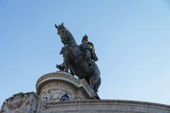 Μνημείο του Victor Emmanuel ΙΙ στην πλατεία Venezia στη Ρώμη Στοκ Εικόνα