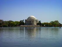 Μνημείο του Washington DC Thomas Jefferson Στοκ Φωτογραφίες