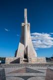 Μνημείο των ανακαλύψεων στη Λισσαβώνα Στοκ εικόνα με δικαίωμα ελεύθερης χρήσης