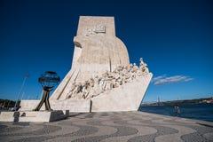 Μνημείο των ανακαλύψεων στη Λισσαβώνα Στοκ Εικόνα