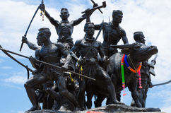 Μνημείο των ηρώων Rachan κτυπήματος Στοκ φωτογραφίες με δικαίωμα ελεύθερης χρήσης