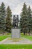 Μνημείο των σοβιετικών στρατιωτών Στοκ Εικόνες
