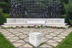 Μνημείο Χάγη δεύτερων παγκόσμιων πολέμων της Ινδονησίας Στοκ φωτογραφία με δικαίωμα ελεύθερης χρήσης