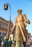 Μνημείο χαλκού θείος Stepa-militiaman στοκ φωτογραφία με δικαίωμα ελεύθερης χρήσης