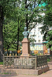 Μνημείο χαλκού στο ρωσικό αυτοκράτορα Peter Ι στη Αγία Πετρούπολη Στοκ φωτογραφία με δικαίωμα ελεύθερης χρήσης