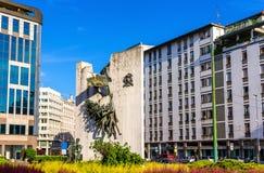 Μνημείο AI Bersaglieri στο Μιλάνο Στοκ εικόνα με δικαίωμα ελεύθερης χρήσης