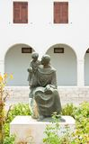 Μνημείο Anthony της Πάδοβας. Pula, Κροατία Στοκ Εικόνες
