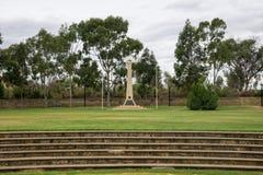 Μνημείο ANZAC σε Joondalup Central Park Στοκ εικόνες με δικαίωμα ελεύθερης χρήσης