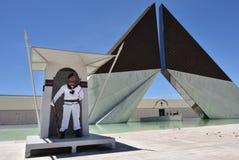 Μνημείο Aos Combatentes do Ultramar στο Βηθλεέμ στη Λισσαβώνα, Portuga Στοκ Εικόνα