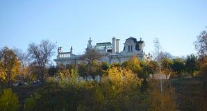 Μνημείο Aseev houseThe της αρχιτεκτονικής της πόλης του Ταμπόβ Ρωσία στοκ φωτογραφίες