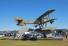 Μνημείο biplane, Λισσαβώνα, Πορτογαλία Στοκ Εικόνες