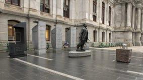 Μνημείο Catto βαλεντίνων Octavius, Δημαρχείο, Philadephia στοκ φωτογραφίες