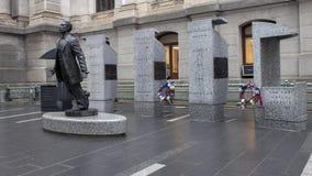Μνημείο Catto βαλεντίνων Octavius, Δημαρχείο, Philadephia στοκ φωτογραφία με δικαίωμα ελεύθερης χρήσης