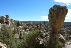 μνημείο chiricahua εθνικό Στοκ Εικόνα