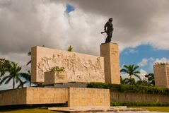 Μνημείο Guevara Che, Plaza de Λα Revolution, Σάντα Κλάρα, Κούβα Στοκ εικόνες με δικαίωμα ελεύθερης χρήσης