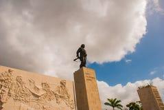 Μνημείο Guevara Che, Plaza de Λα Revolution, Σάντα Κλάρα, Κούβα Στοκ Εικόνες