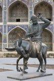 Μνημείο Hodja Nasreddin στη Μπουχάρα, Ουζμπεκιστάν Στοκ φωτογραφία με δικαίωμα ελεύθερης χρήσης