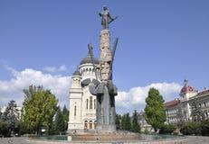 Μνημείο Iancu Avram σε Cluj-Napoca από την περιοχή της Τρανσυλβανίας στη Ρουμανία Στοκ Εικόνες