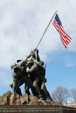 Μνημείο Jima Iwo Στοκ Εικόνες