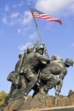 Μνημείο Jima Iwo Στοκ Φωτογραφίες