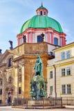 Μνημείο Karolo τέταρτο (IV) Στοκ εικόνα με δικαίωμα ελεύθερης χρήσης