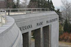 Μνημείο Mardasson στοκ φωτογραφία με δικαίωμα ελεύθερης χρήσης