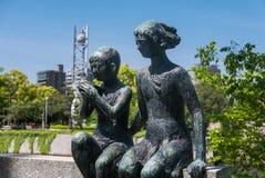 Μνημείο Miekichi Suzuki Στοκ εικόνα με δικαίωμα ελεύθερης χρήσης