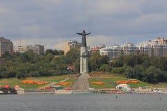 Μνημείο patroness μητέρων Cheboksary στοκ φωτογραφία με δικαίωμα ελεύθερης χρήσης