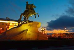 Μνημείο Peter ο πρώτος Στοκ φωτογραφία με δικαίωμα ελεύθερης χρήσης