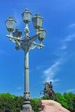 Μνημείο Peter I ενάντια στο μπλε ουρανό. Στοκ φωτογραφία με δικαίωμα ελεύθερης χρήσης