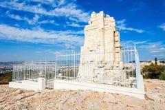 Μνημείο Philopappos στην Αθήνα Στοκ εικόνα με δικαίωμα ελεύθερης χρήσης