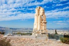 Μνημείο Philopappos στην Αθήνα Στοκ Φωτογραφίες