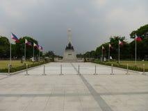 μνημείο rizal στοκ εικόνα με δικαίωμα ελεύθερης χρήσης