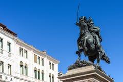 Μνημείο Vittorio Emmanuele ΙΙ στη Βενετία, Ιταλία Στοκ Φωτογραφία