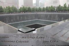 Μνημείο World Trade Center Στοκ Εικόνα