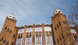 μνημειακά toros plaza της Βαρκελών&eta Στοκ Εικόνα