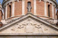 Μνημειακή αρχιτεκτονική του νεκροταφείου Mirogoj arcades στο Ζάγκρεμπ Στοκ Φωτογραφίες