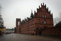 Μνημειακή αρχιτεκτονική Helsingor, Δανία στοκ φωτογραφία με δικαίωμα ελεύθερης χρήσης