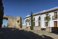 Μνημειακή πόλη Antequera στην επαρχία της Μάλαγας, Ανδαλουσία Στοκ εικόνα με δικαίωμα ελεύθερης χρήσης