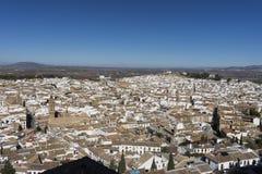 Μνημειακή πόλη Antequera στην επαρχία της Μάλαγας, Ανδαλουσία Στοκ Φωτογραφίες