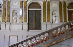 Μνημειακή σκάλα Palazzo Arese Litta Στοκ Φωτογραφία